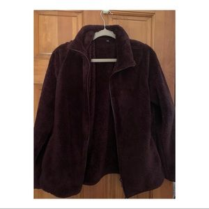 Zip Up Fuzzy Jacket * NEW CONDITION *